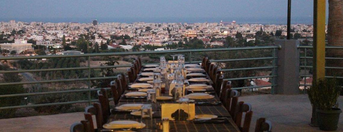 Shiambelos, «Шиамбелос», ресторан с панорамным видом на Лимассол и кипрской традиционной кухней