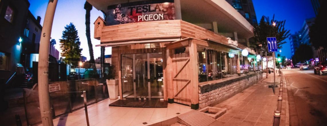 Tesla`s Pigeon Coctail Bar & Kithchen, бар Tesla`s Pigeon в Никосии