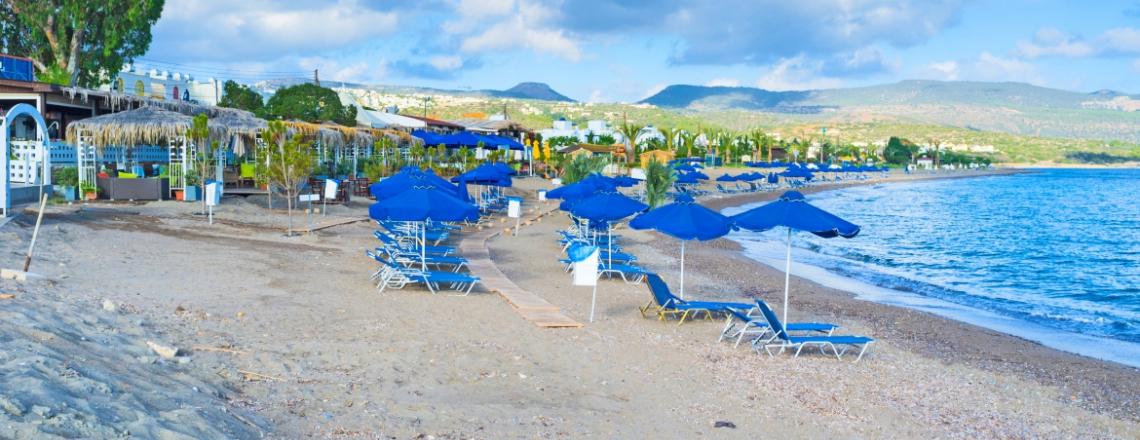 Alykes Beach, пляж Аликес в Пафосе