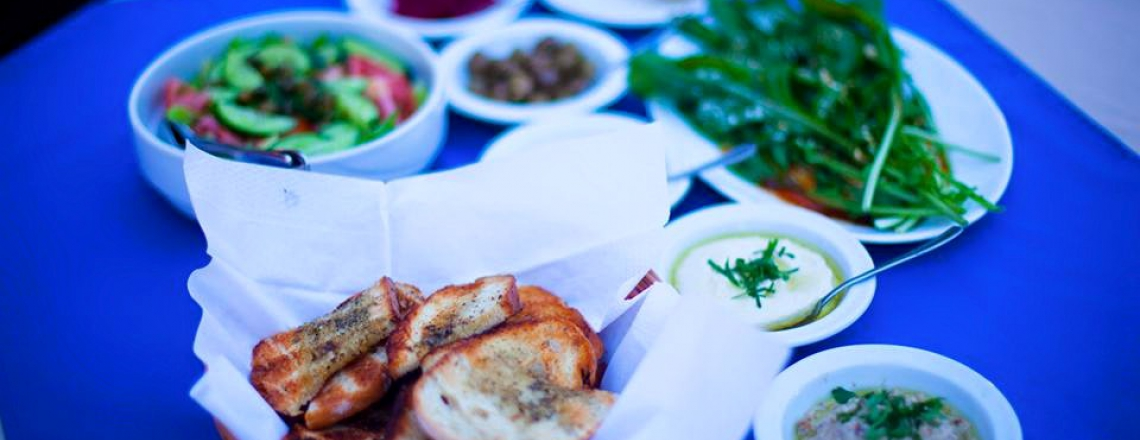 The Big Fish, «Биг Фиш», рыбный ресторан в центре города на набережной, Лимассол
