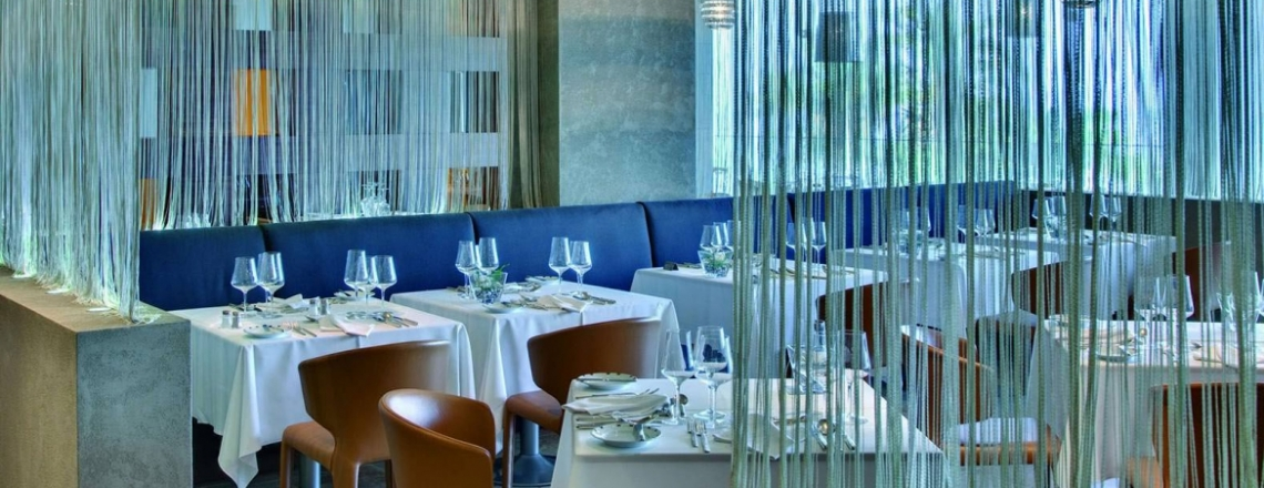 The Cyan, ресторан в отеле Amathus, Лимассол (ЗАКРЫТО)