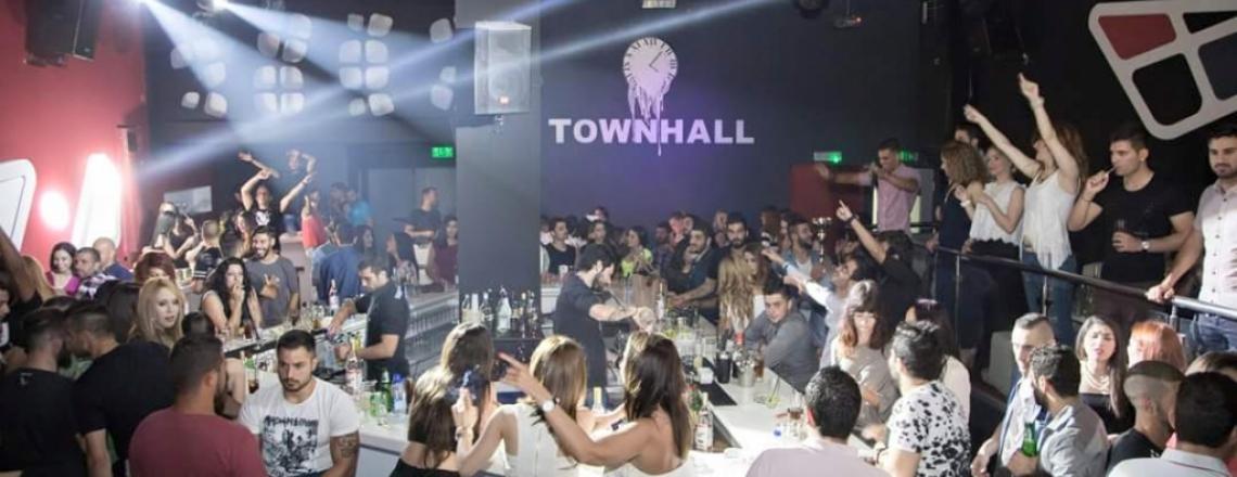 TOWN HALL, ночной танцевальный клуб в Старом Городе, Лимассол