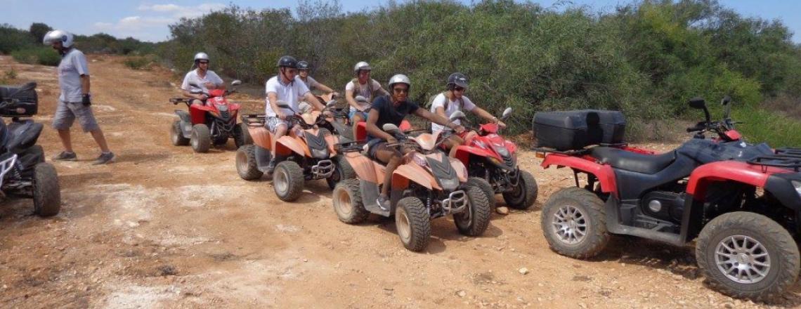 Туры на квадроциклах Gass Quad Safaris в Паралимне