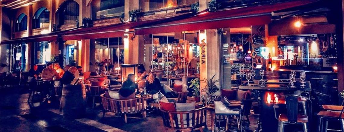 Винный бар и ресторан Vinaria в Ларнаке
