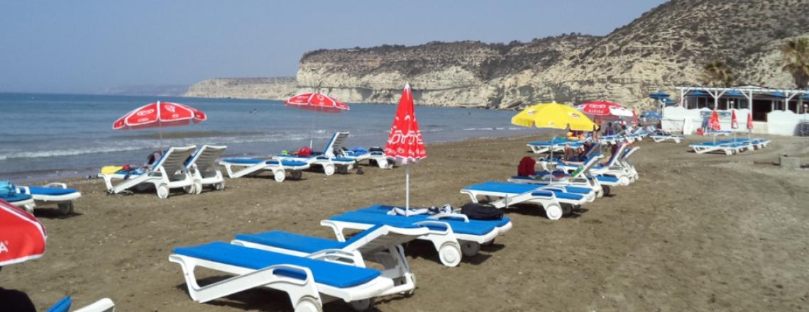 Kourion Bay, Пляж Куриона «Курион Бэй», Епископи, Лимассол