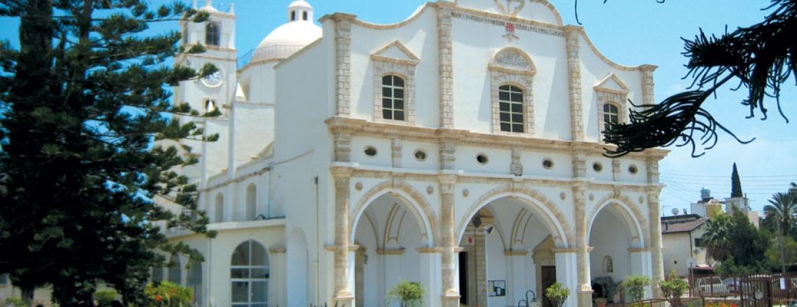 Terra Santa Church, церковь Терра Санта в Ларнаке