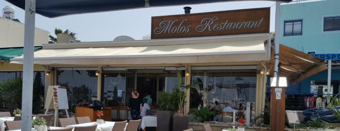 Molos Restaurant, ресторан «Молос» в Лачи