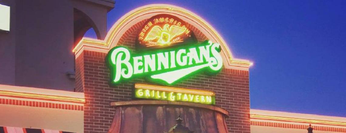 Bennigan's, American Restaurant in Protaras