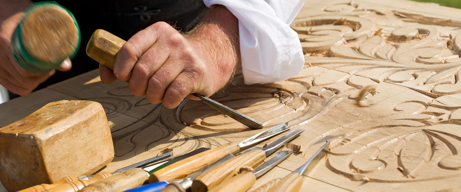 Wood Carving and Traditional Furniture Crafting