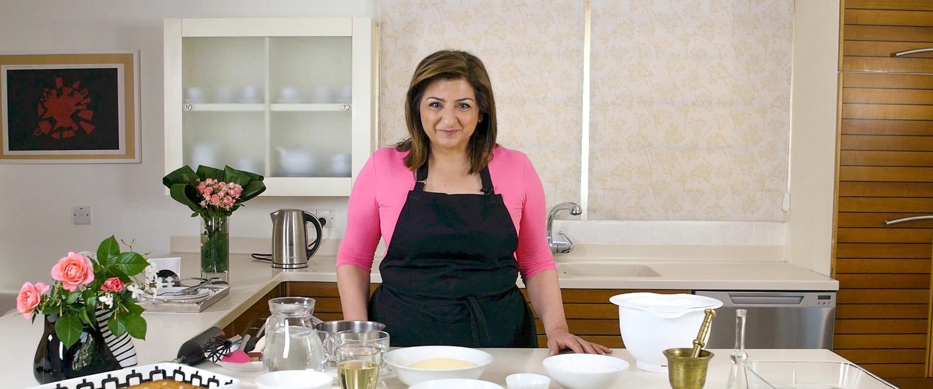 Кипрская кухня с Мариленой: десерт «шамали»
