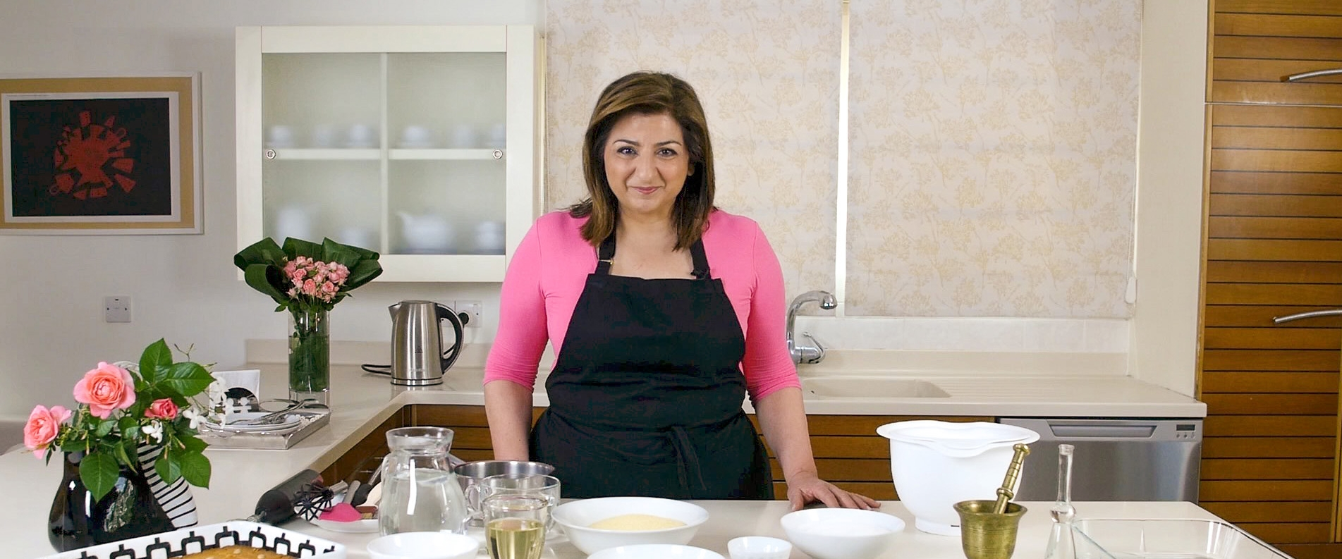 Cyprus cuisine with Marilena: shamali cake