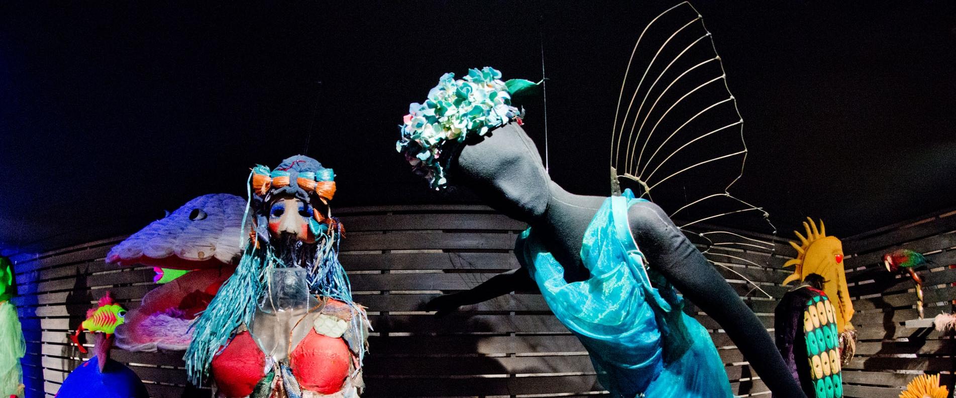 Музей театрального искусства Cyprus Theatre Museum в Лимассоле, фоторепортаж