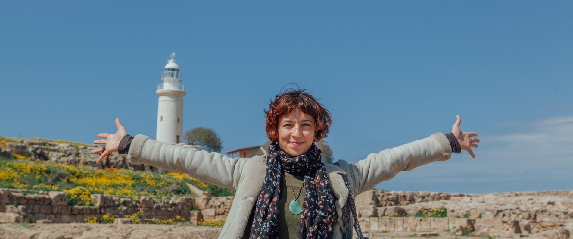 Эрика Харалампус: райский остров в сердце моем