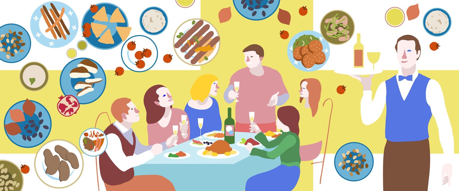 ТОП 5 ресторанов для праздничного ужина в Лимассоле