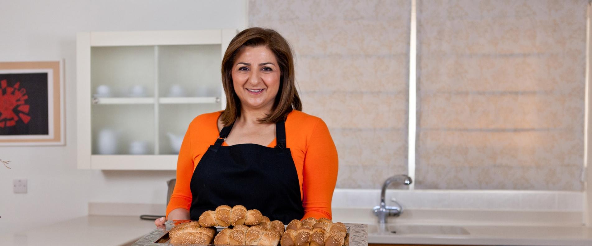 Cypriot Cuisine with Marilena: Karpasitiko Koulouri — Karpasia Easterbread