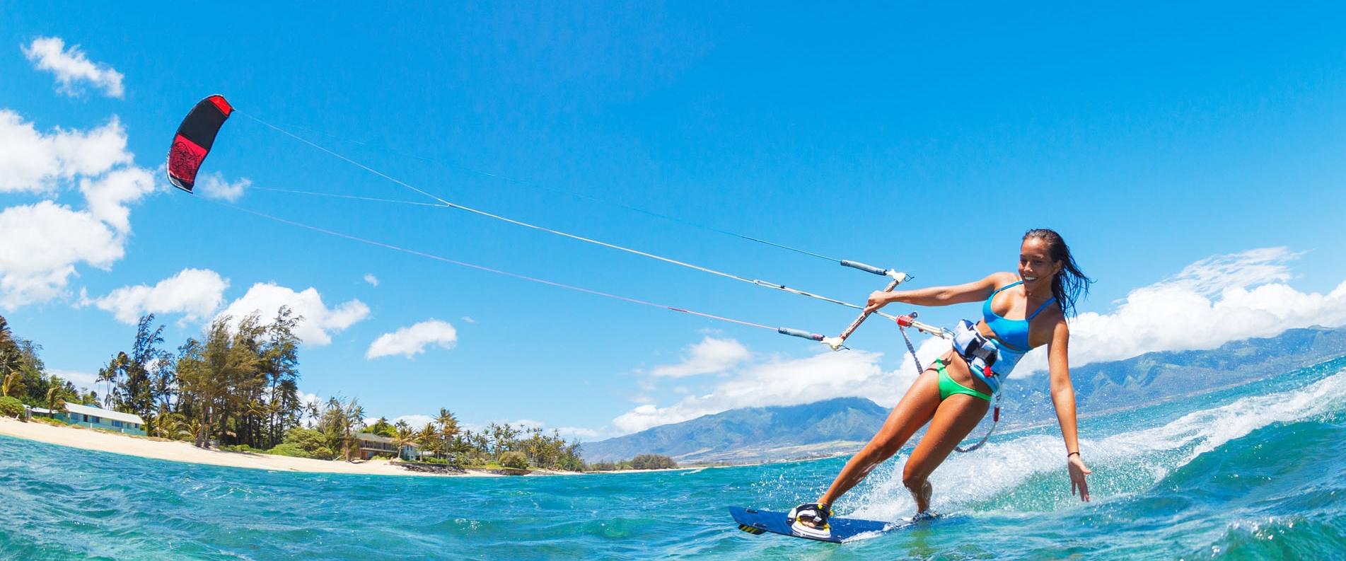 Kitesurfing in Cyprus