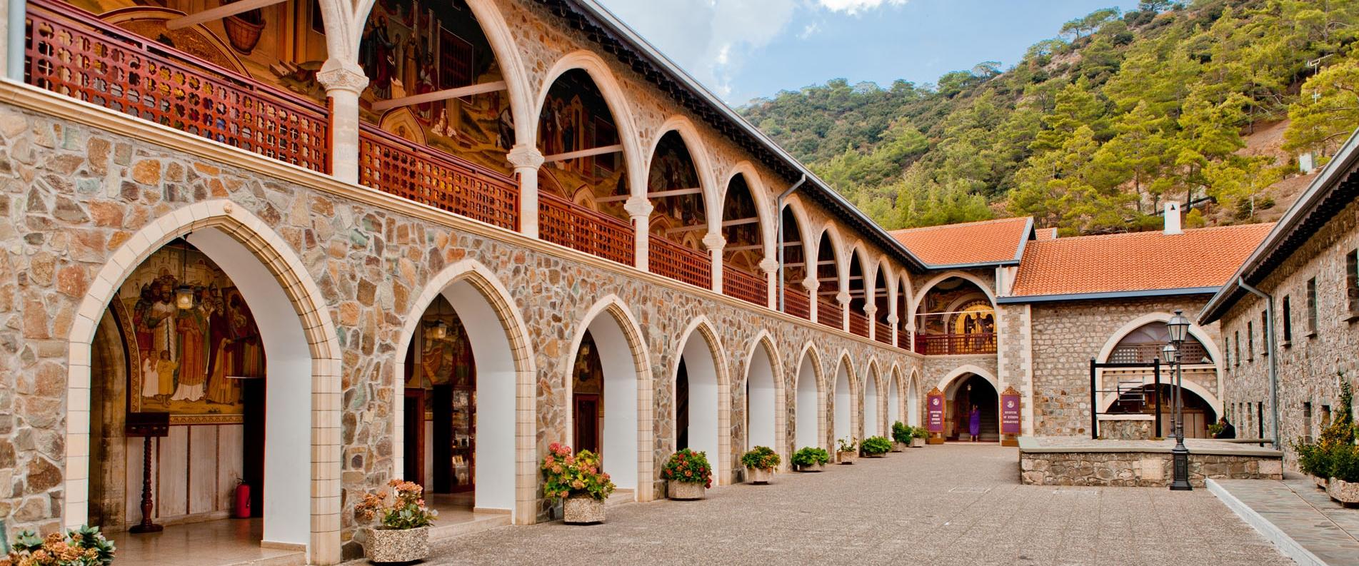 Монастырь Киккос в Троодосе, фоторепортаж