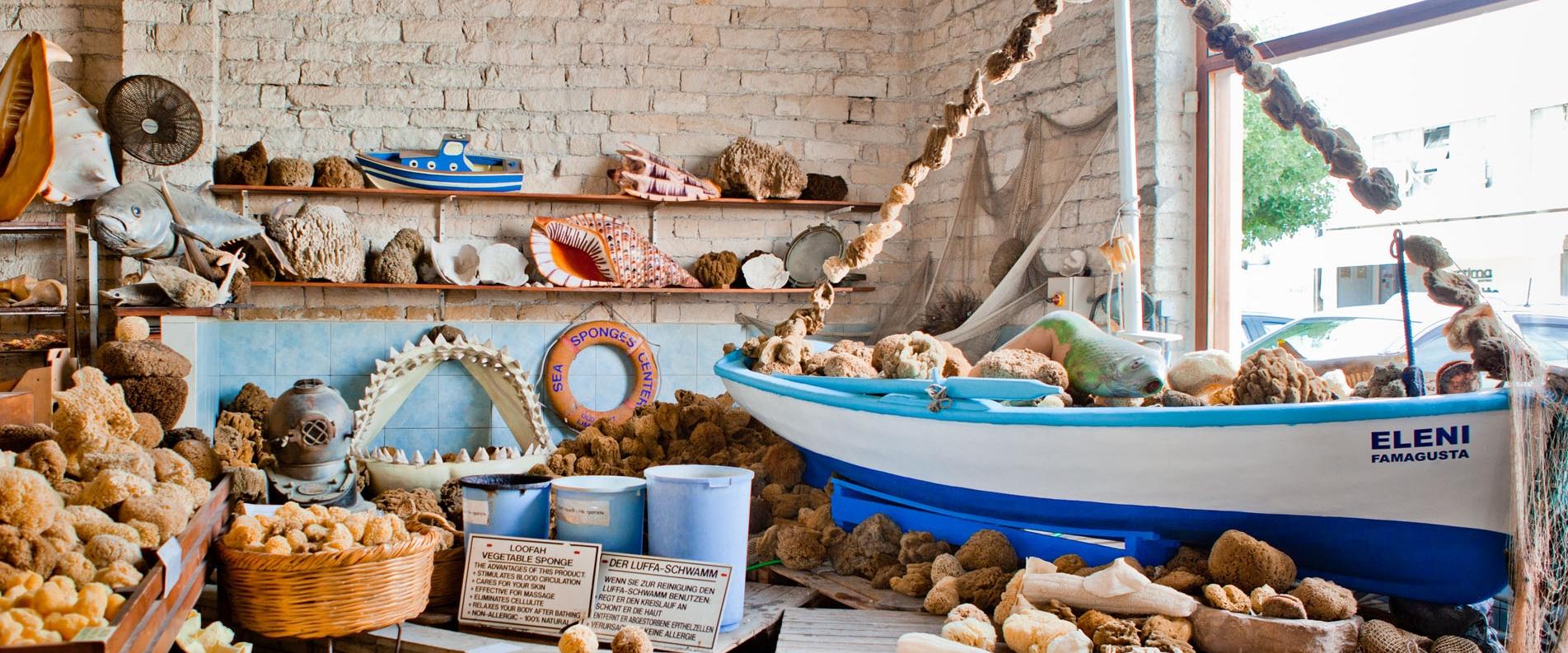 Магазин сувениров и подарков Old Port Center в Лимассоле, фоторепортаж