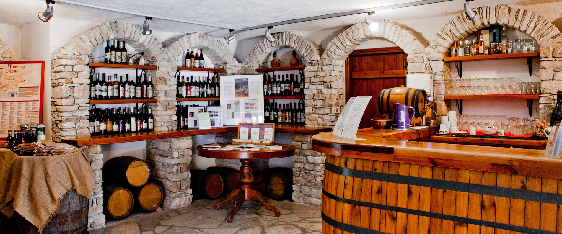A museum in Erimi: wine in Cyprus is more than just wine