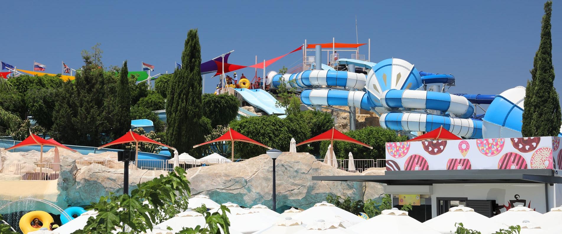 Аквапарки Кипра