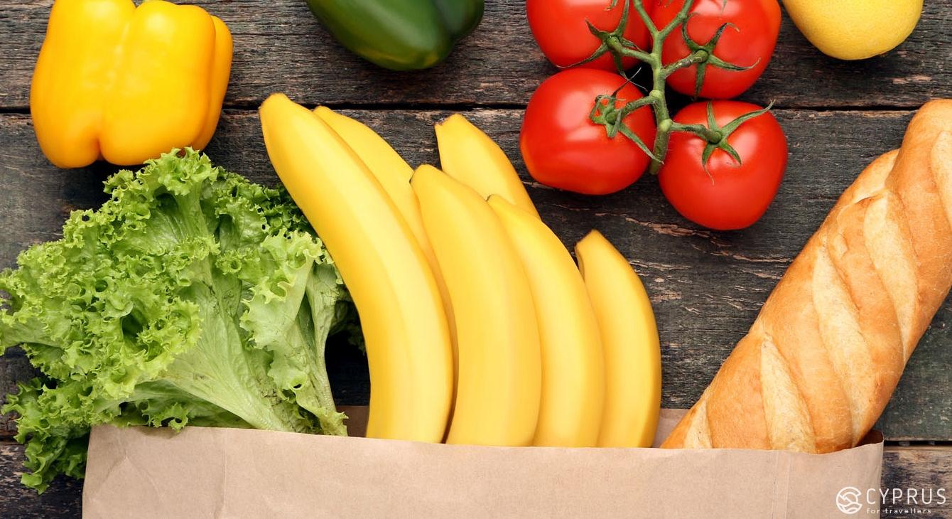 Службы доставки продуктов на Кипре