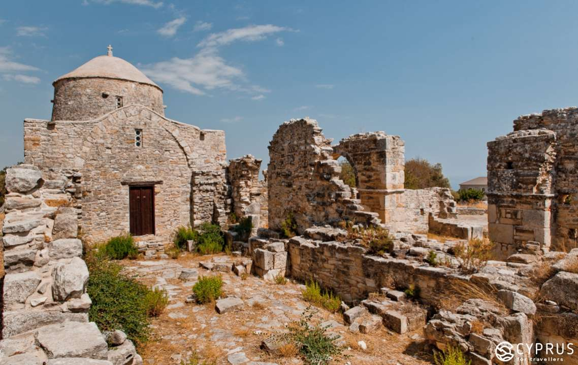 The Monastery of the Holy Cross, Anogyra Village, Cyprus