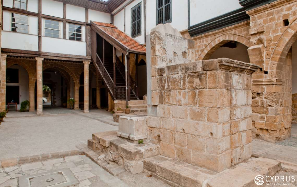 Ethnographic Museum in Nicosia. The Hadjigeorgakis Kornesios Mansion