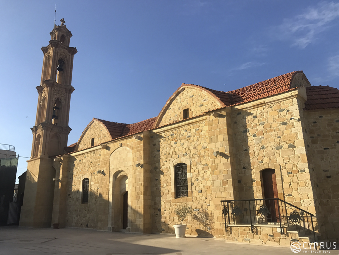 Meniko village — One day in the Church of St. Justina and Cyprian