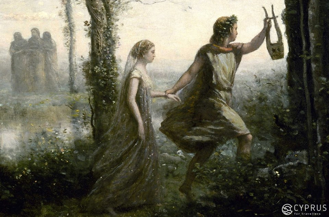 Jean-Baptiste-Camille Corot, Orpheus Leading Eurydice from the Underworld (1861)