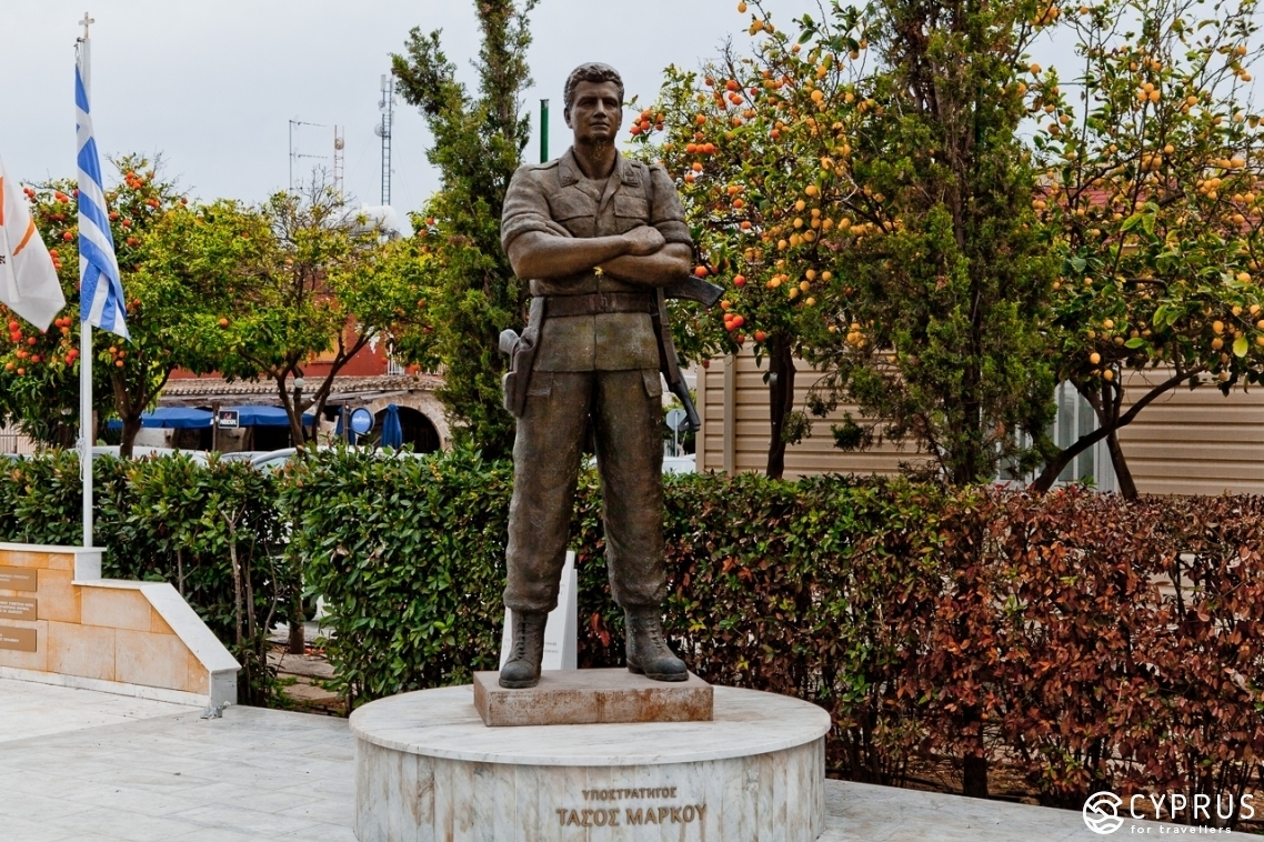 Monument to a Hero — a dedication to Tasos Markou