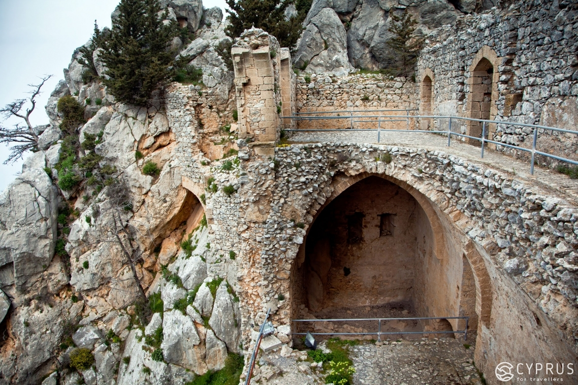 Saint Hilarion Castle in Northern Cyprus