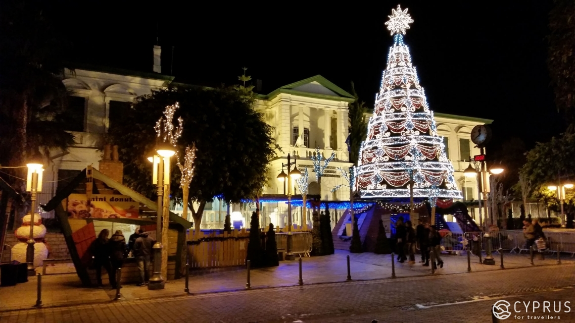 Christmas in Limassol, Cyprus